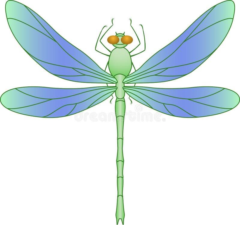 蜻蜓 向量例证