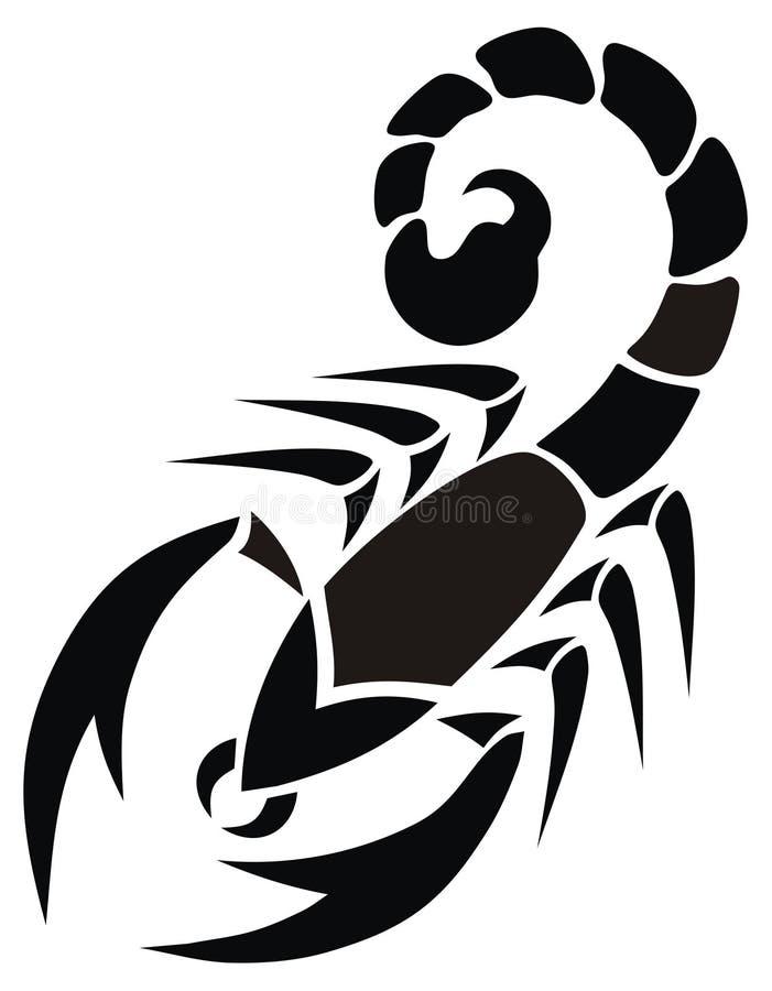 蝎子 库存例证