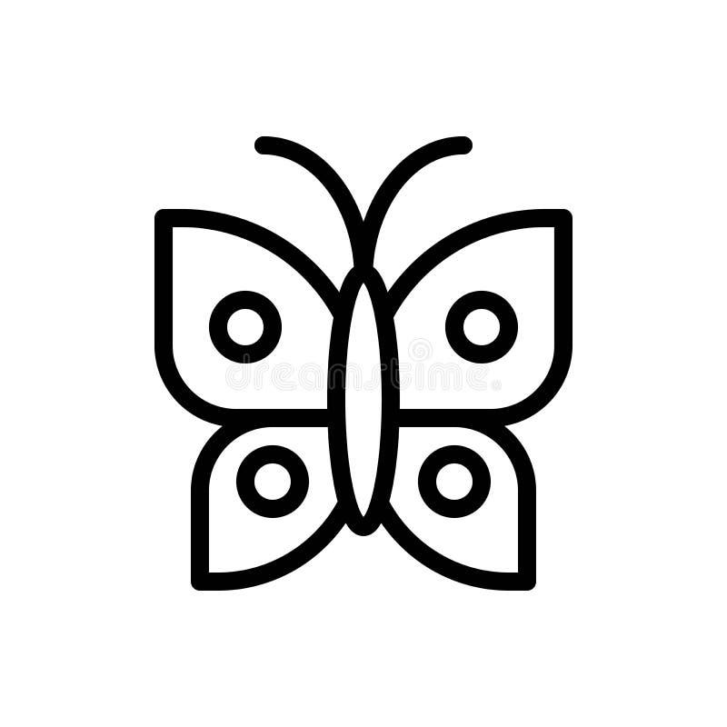 蝴蝶传染媒介例证,复活节线型象 皇族释放例证