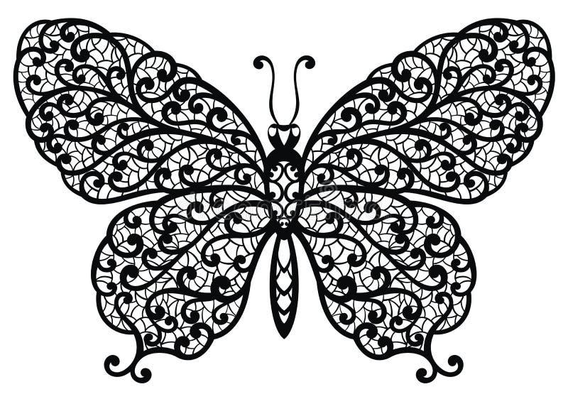 蝴蝶例证我的对向量欢迎的投资组合 库存例证