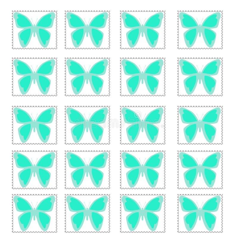 蝴蝶例证模式 皇族释放例证