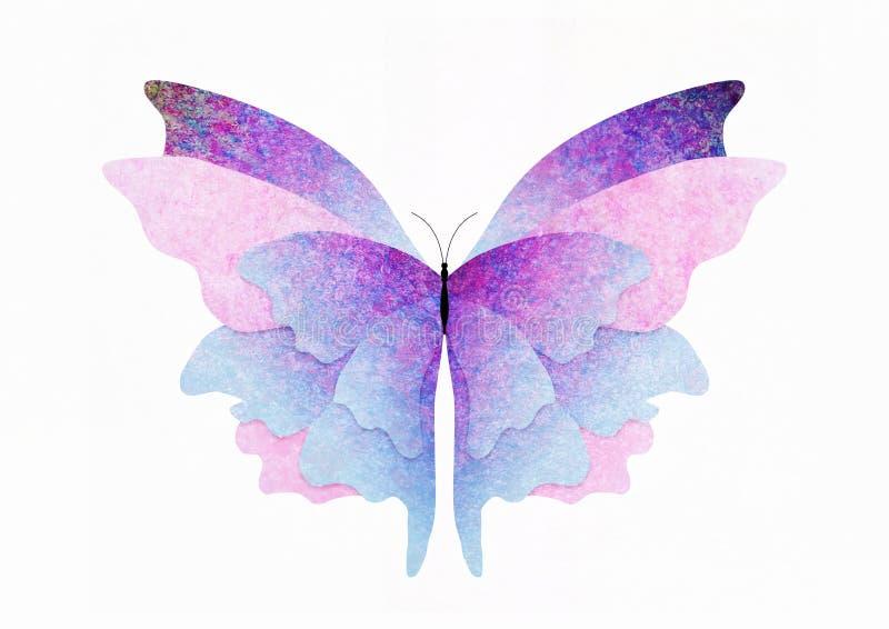 蝴蝶构造了 皇族释放例证