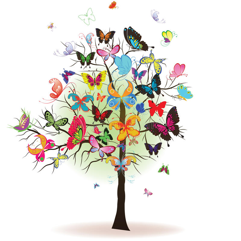 蝴蝶结构树