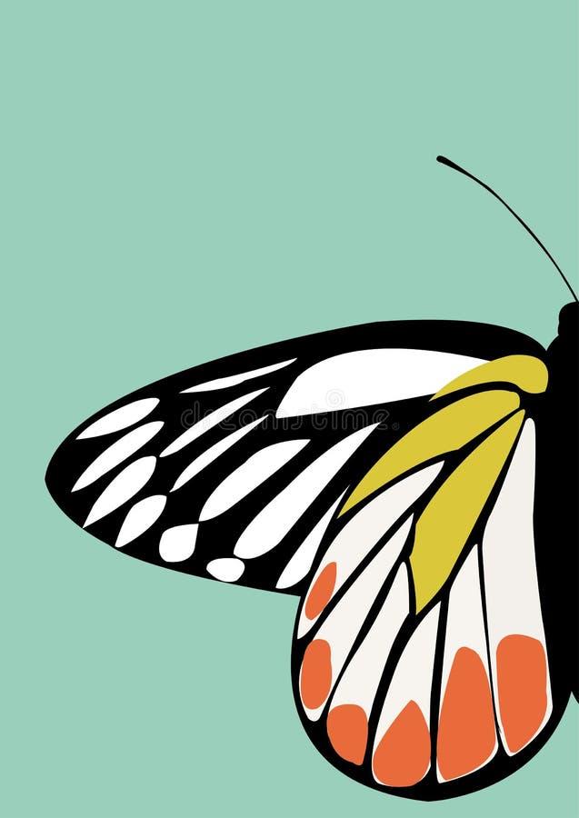 蝴蝶象传染媒介 库存图片