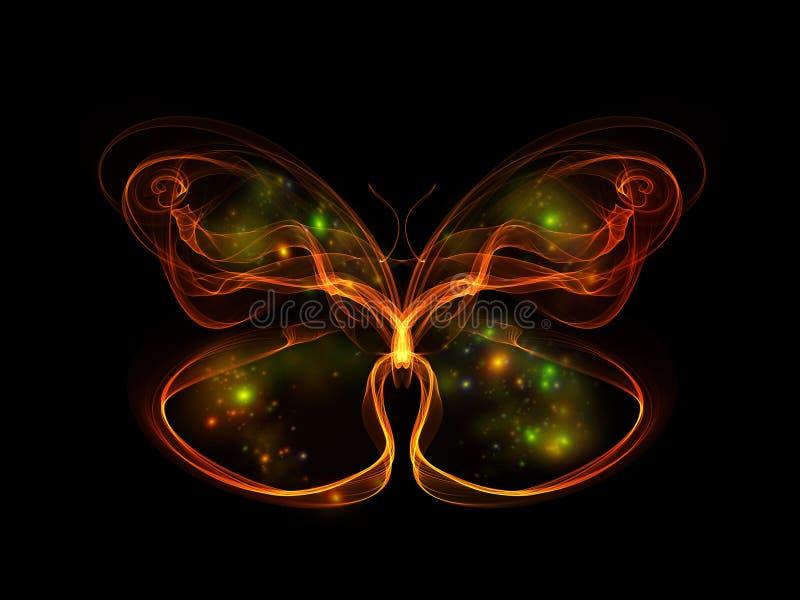蝴蝶元素 库存例证