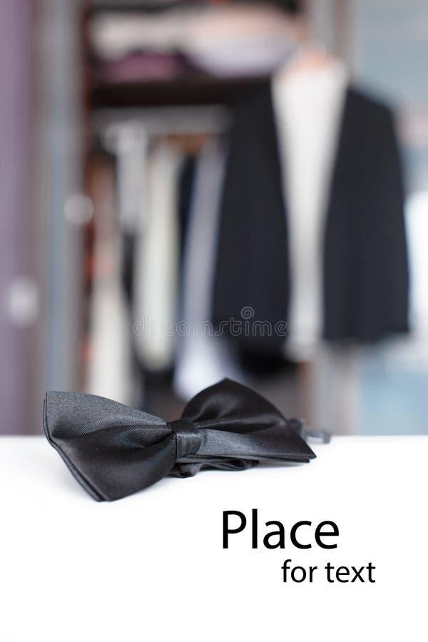 蝶形领结邀请 库存图片