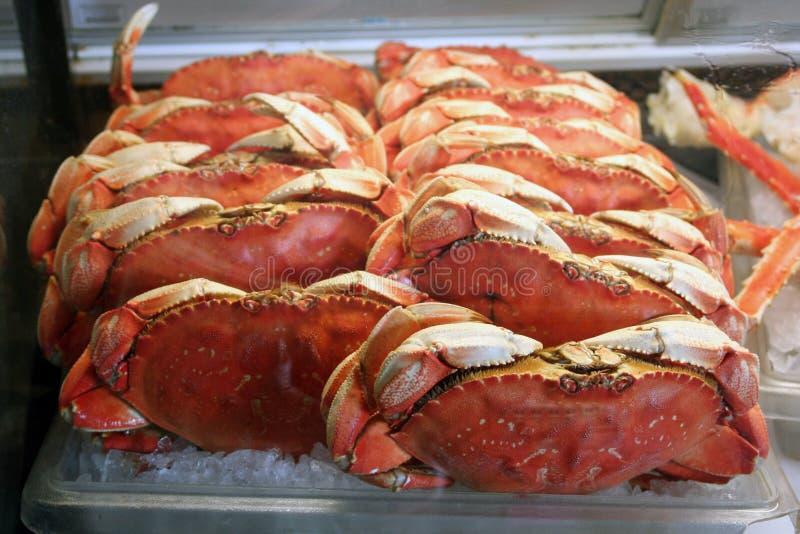 螃蟹鱼市 免版税图库摄影