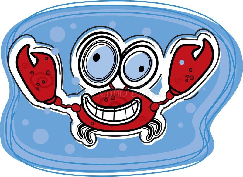 螃蟹 皇族释放例证