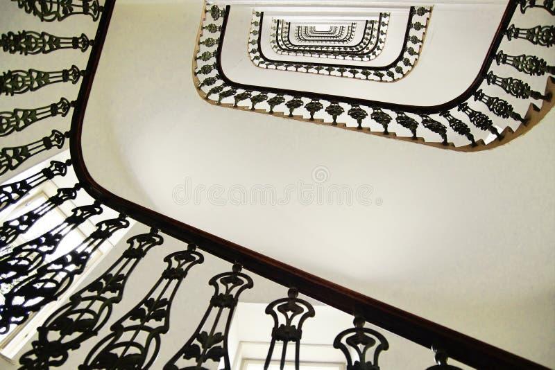 螺旋形楼梯。 图库摄影