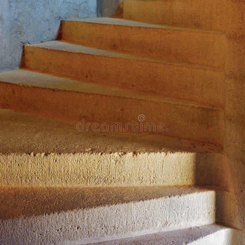 螺旋形楼梯的Detal 免版税库存照片