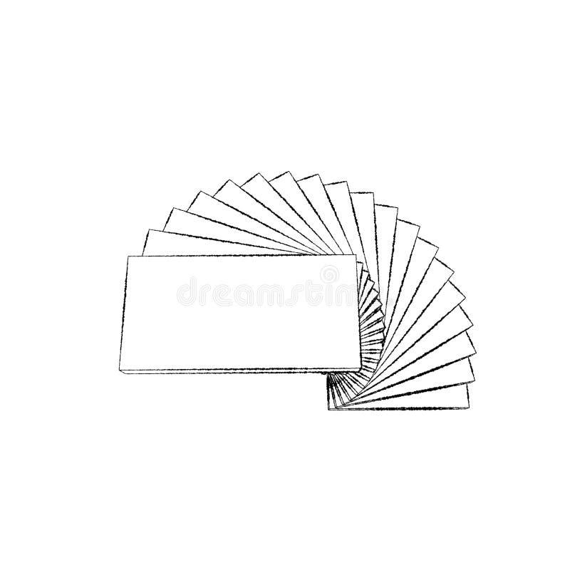螺旋形楼梯 背景查出的白色 剪影illustrat 库存例证