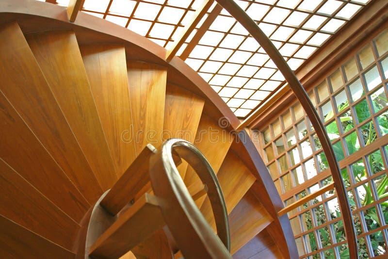 螺旋形楼梯 免版税库存图片
