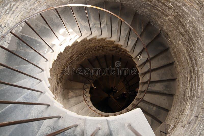 螺旋形楼梯 库存图片