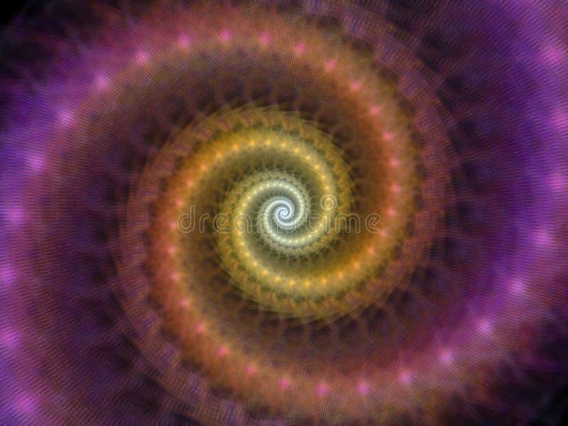螺旋形涡流 向量例证