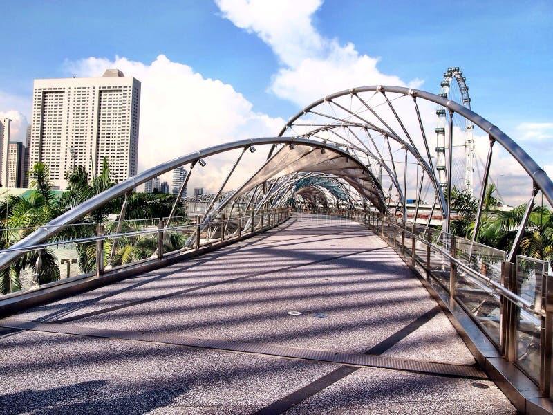 螺旋桥梁 库存图片
