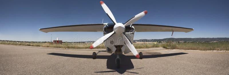 螺旋桨推进式飞机 免版税图库摄影