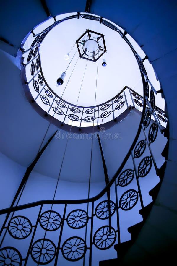 螺旋楼梯 库存照片