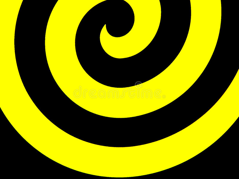 螺旋 库存例证