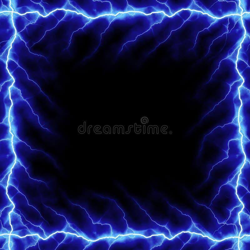螺栓框架闪电 向量例证