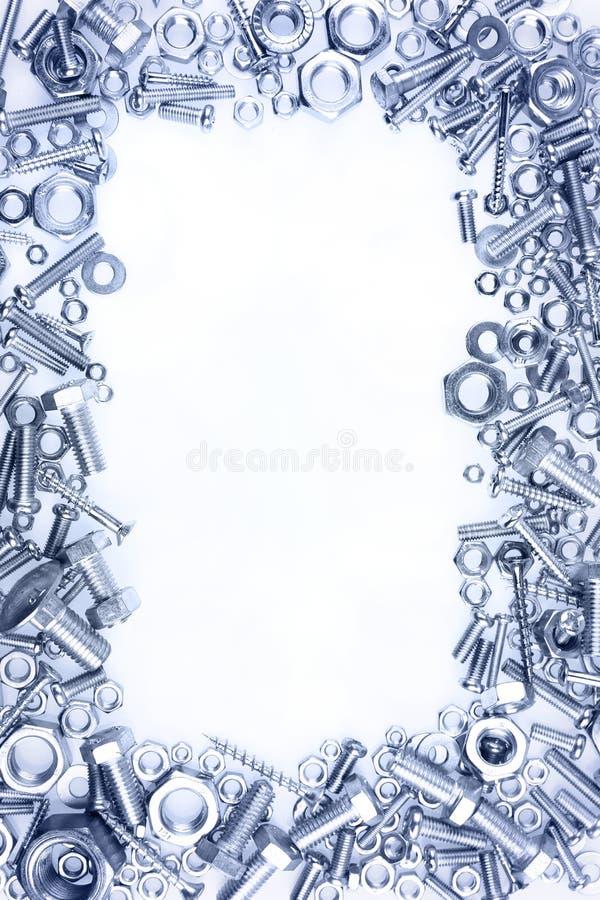 螺栓螺母 图库摄影