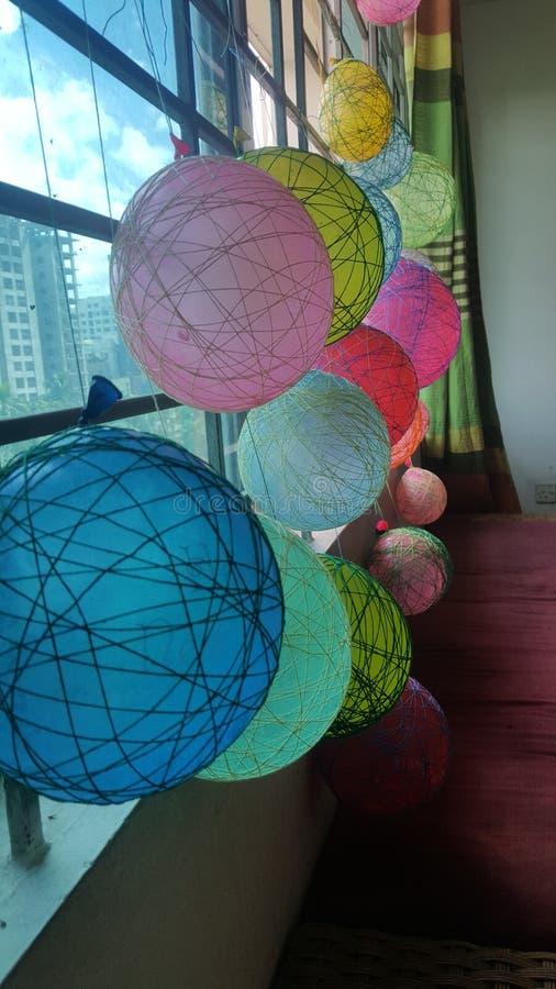 螺纹气球 免版税库存图片