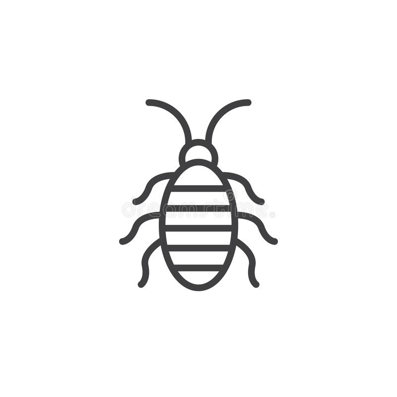 download 蟑螂线象 向量例证.图片