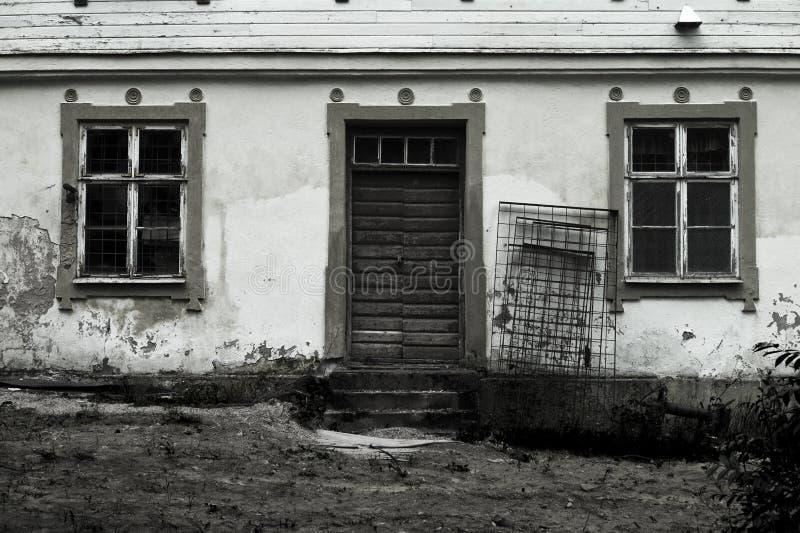 蠕动的房子 库存图片