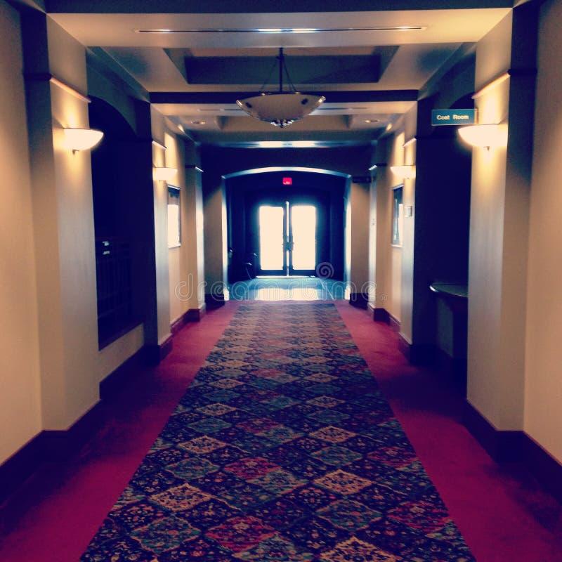 蠕动的走廊 免版税库存图片