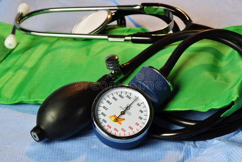 血压计 免版税库存图片