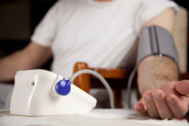 血压评定 免版税库存图片