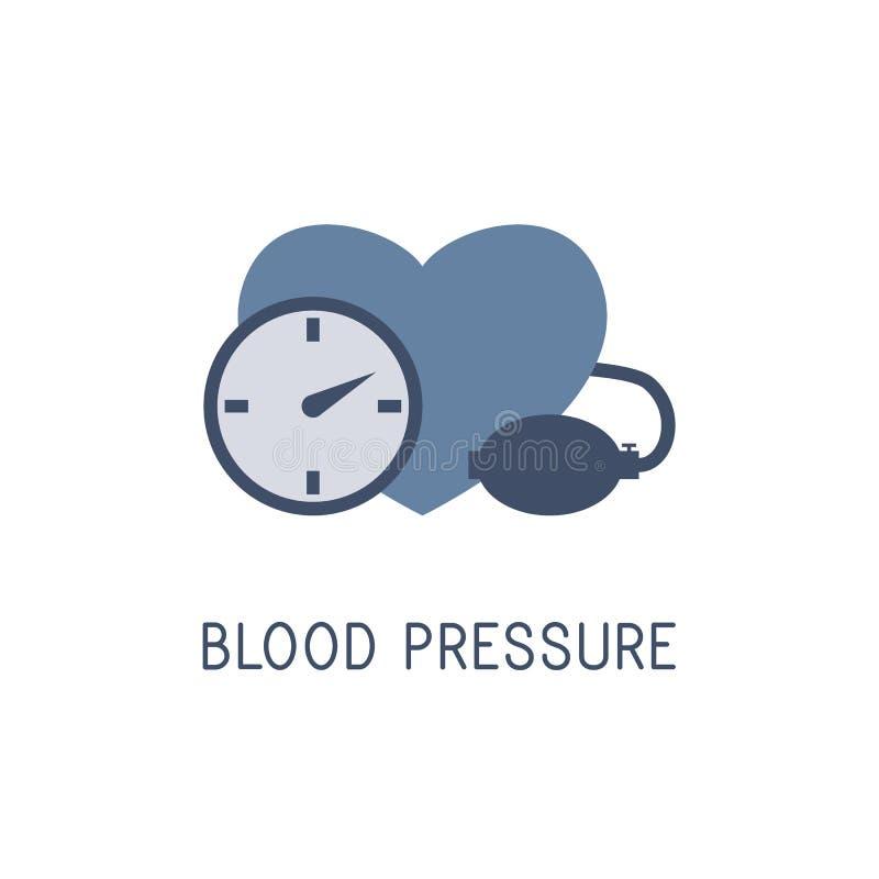 血压 黑色更改图标肝脏医疗保护白色 查出在白色 向量 皇族释放例证