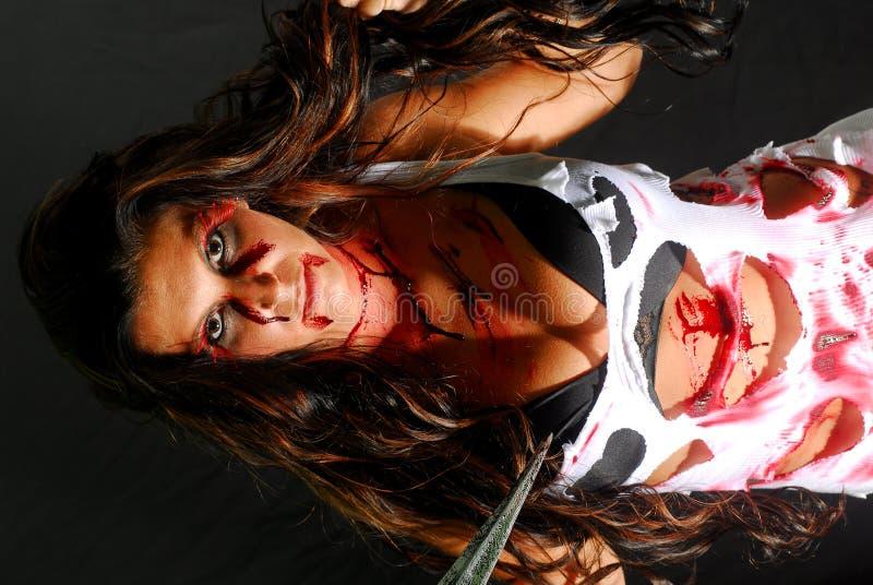 血液公主 库存照片