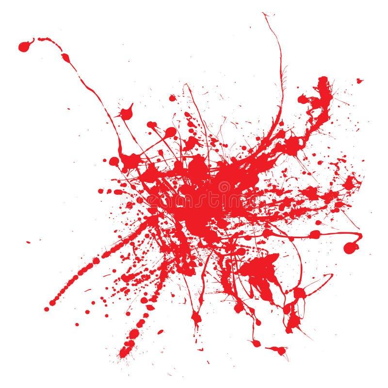 血液墨水 皇族释放例证