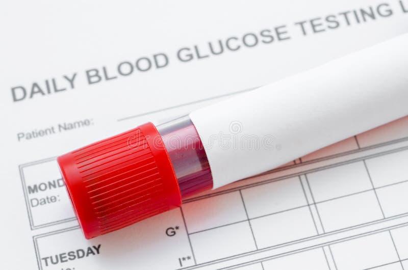 血糖控制概念 免版税库存照片