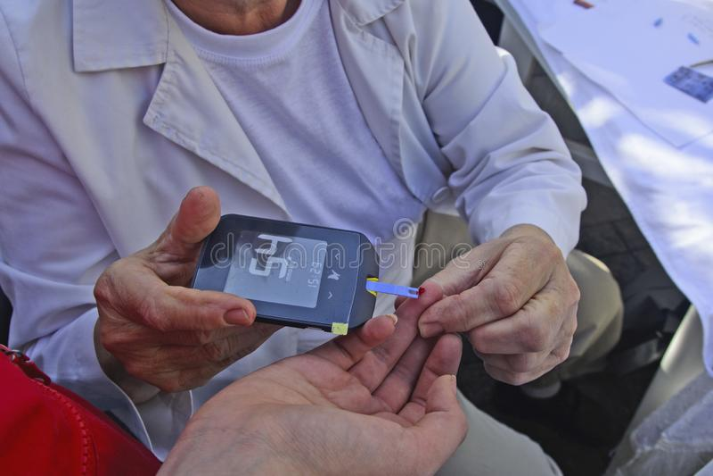 血糖控制 免版税库存照片