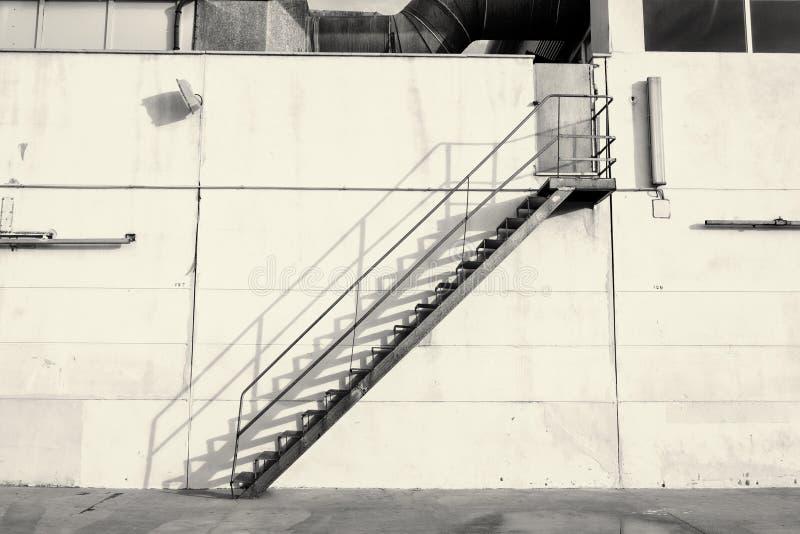 行业楼梯 免版税库存图片