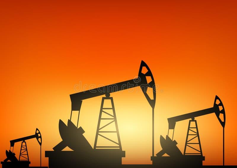 行业油泵俄国 库存例证