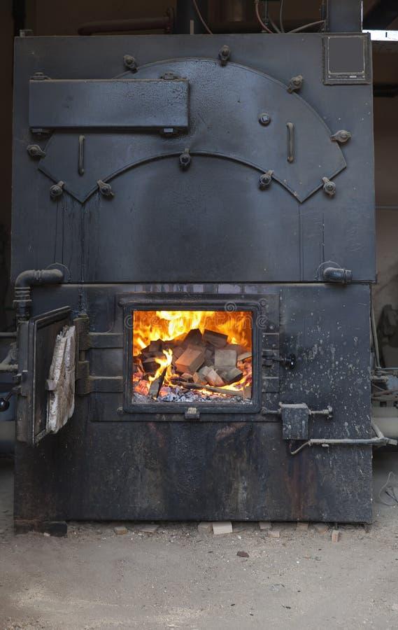 行业熔炉 免版税库存照片