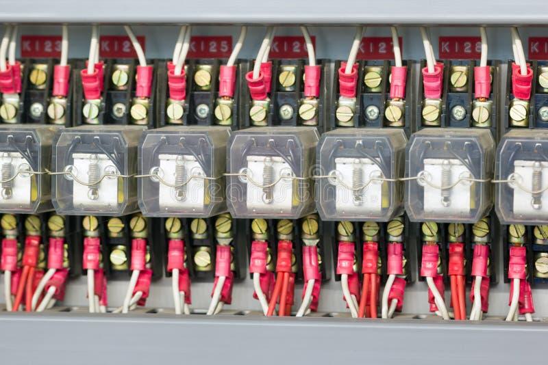 行业电气设备 免版税库存照片