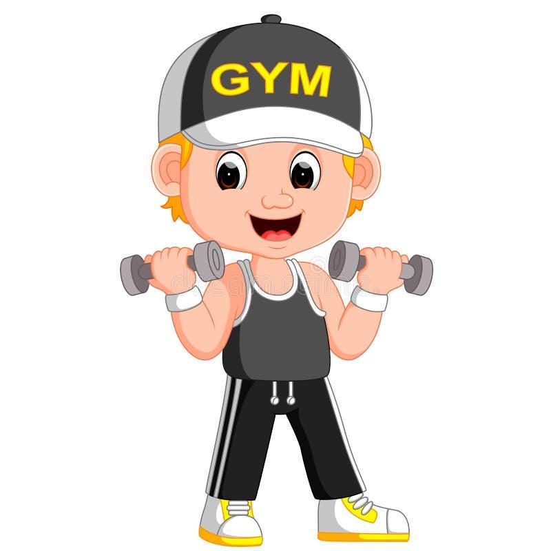 插画 包括有 健康, 爱好健美者, 健身, 增强, 重新创建 - 91197767图片