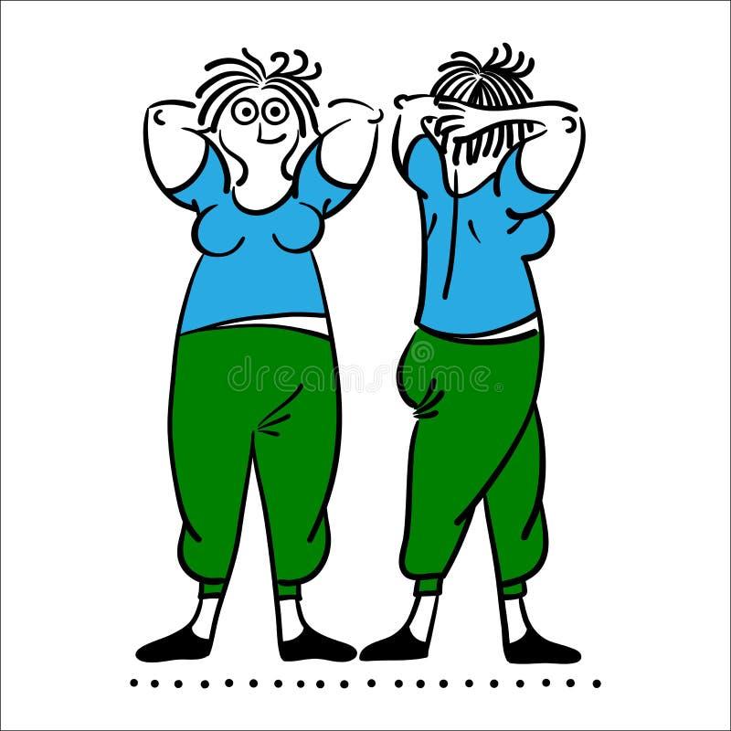 老妇性交姿势_行使老妇人 被设置的普拉提姿势. 概念, beautifuler.
