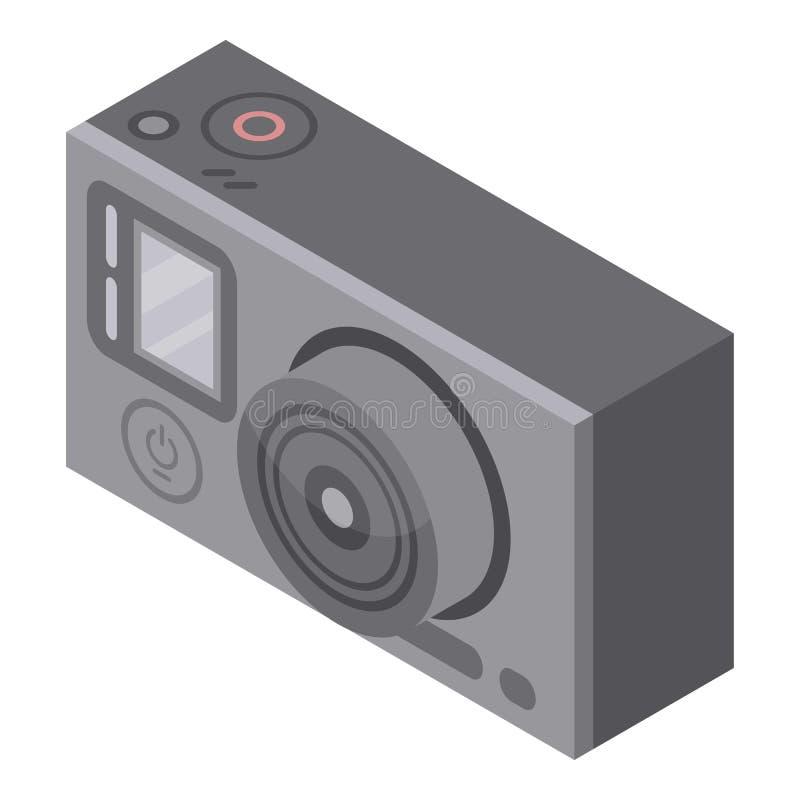 行动照相机象,等量样式 向量例证
