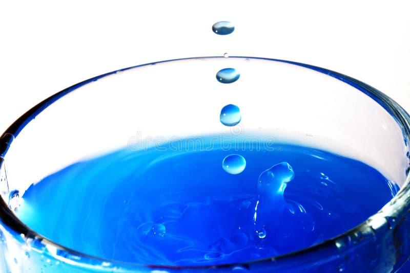 水行动纹理(有益于墙纸和背景) 库存照片