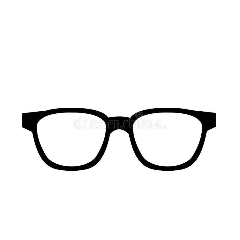 行家时尚镜片,向量图形 向量例证