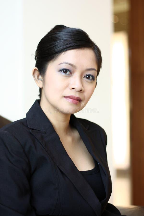 行政女性年轻人 免版税库存图片