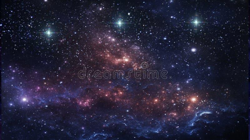 行星和星系,波斯菊,物理宇宙论 免版税库存照片
