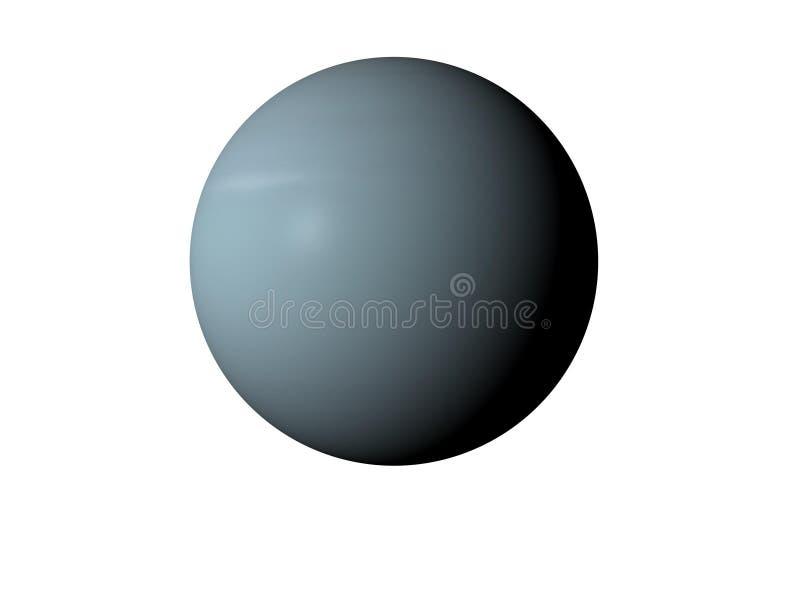 行星天王星 向量例证