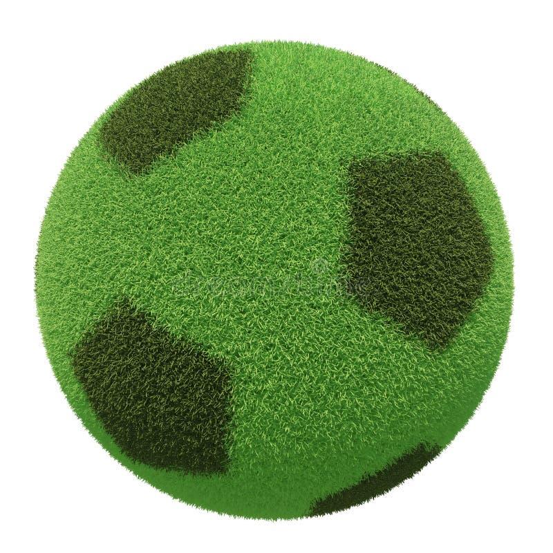 行星橄榄球3D 免版税库存照片