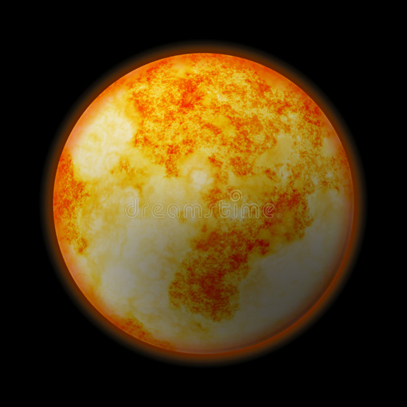 行星空间 皇族释放例证