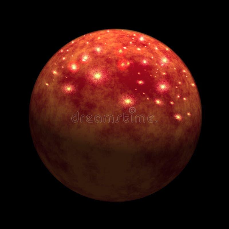 行星金星 库存例证